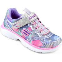 aff07a3b0c0 Netshoes  Tênis Infantil Skechers Spirit Sprintz Feminino - Feminino