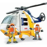 Helicóptero Aventura - Imaginext Oceano - Fisher-Price - Masculino