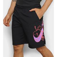 Bermuda Nike Flx Wvn 2.0 Masculina - Masculino-Preto