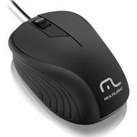 Mouse Ótico Multilaser Wave 1200 Dpi 3 Botões Com Fio Mo222 - Unissex