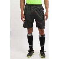 Calção Masculino Esporte Ace Futebol Estampado De Linhas Com Bolsos E Cós Com Elástico Verde