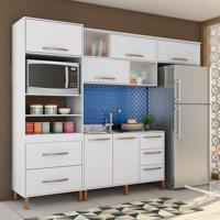 Cozinha Completa Canela 8 Pt 5 Gv Branco