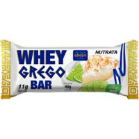 Bar Whey Grego Nutrata Torta Limão 40Gr