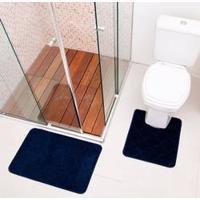 Jogo De Tapetes Para Banheiro Miami De 02 Peças Solecasa