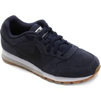 Tênis Nike Md Runner 2 Suede Masculino - Masculino-Chumbo+Preto
