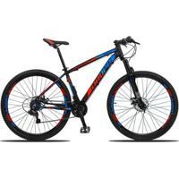 Bicicleta Aro 29 Dropp Z3 Câmbios Shimano 24V Freios A Disco Suspensão Dianteira - Unissex