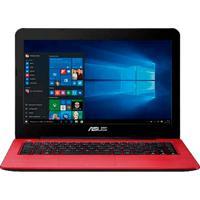 """Notebook Asus Z450La-Wx006T - Vermelho - Intel Core I5-5200U - Ram 8Gb - Hd 1Tb - Led 14"""" - Windows 10"""