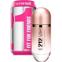 Perfume Feminino 212 Vip Rosé Collector Carolina Herrera Eau De Parfum 80Ml - Feminino-Incolor