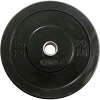 Anilha Crossfit Bumber Borracha Preta Gears - 20Kg - Unissex