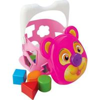 Urso Tomy Merco Toys Menina Multicolorido
