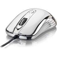 Mouse Gamer Warrior 1600Dpi Prateado Com Led - Mo228 Mo228