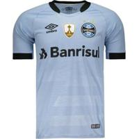 e44eee47bc Netshoes  Camisa Umbro Grêmio Ii 2017 Jogador Libertadores Masculina -  Masculino
