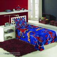 Jogo De Cama Spider Man® Solteiro- Azul Escuro Vermelhlepper