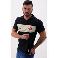 Camisa Diadora Vasco Goleiro Iii 2019 Preta