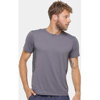 Camiseta Asics Regional Run Ss Masculina - Masculino-Chumbo