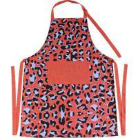 Avental De Cozinha Le Animal Print Colorido