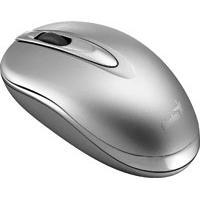 Mouse Óptico Genius Mini Traveler 800Dpi Usb Prata