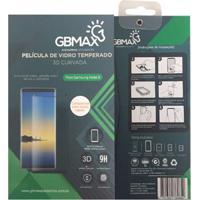 Película De Vidro Temperado 3D Gbmax Curvada Para Samsung Note 8 Transparente-