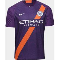 Camisa Manchester City Third 2018 S/N° - Torcedor Nike Masculina - Masculino