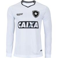 fdf37fb1e4 Camisa Manga Longa Do Botafogo Iii 2018 Topper - Masculina - Branco