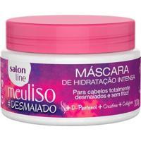Máscara De Hidratação Intensa Salon Line - Meu Liso #Desmaiado - 300Gr - Unissex-Incolor