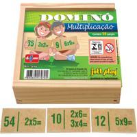Dominó Multiplicação 28 Peças - Jottplay