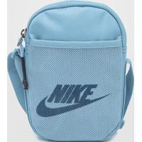 Bolsa Nike Sportswear Heritage S Smit Azul - Kanui