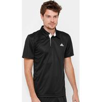 Netshoes  Camisa Polo Adidas Approach Proteção Uv Masculina - Masculino ec34135b9f1e0
