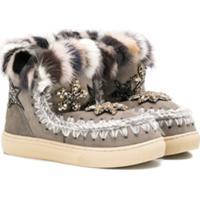 Mou Kids Eskimo Ankle Boots - Cinza