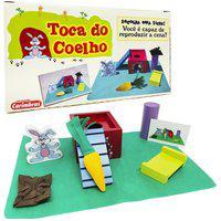 Brinquedo Educativo Da Memória Infantil Toca Do Coelho 4680
