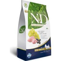 Ração Farmina N&D Adulto Raças Pequenas Cordeiro E Blueberry 800 Gr