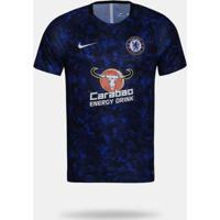Camisa Nike Chelsea 2018/2019 Treino Azul Masculina G