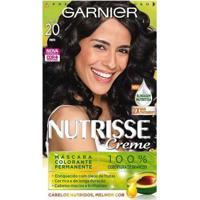 Tintura Garnier Nutrisse 20 Preto - Unissex-Incolor