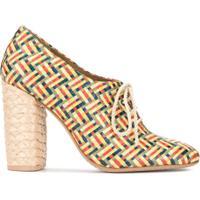 Tory Burch Sapato Com Amarração 'Fabienne' - Estampado