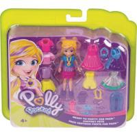 Polly Pocket Pronta Para A Festa - Mattel - Kanui
