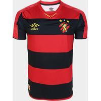 Camisa Sport Recife I 19/20 S/Nº Torcedor Umbro Masculina - Masculino