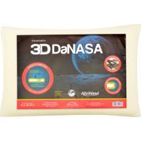 Travesseiro Allemand 3D Danasa Bege