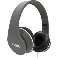 Headset Sense- Cinza Escuro- 25X20X7Cm- P2- Newex