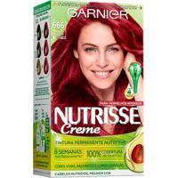 Coloração Nutrisse Garnier 666 Pimenta Malagueta Vermelho - Unissex