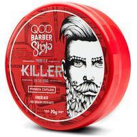 Pomada Qod Barber Shop Killer Para Cabelo Com 70G 70G