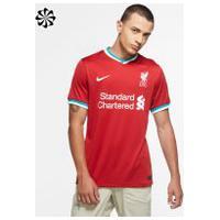 Camisa Nike Liverpool I 2020/21 Torcedor Pro Masculina