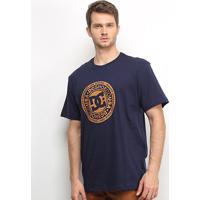 Camiseta Dc Shoes Basic Circle Star Masculina - Masculino-Marinho
