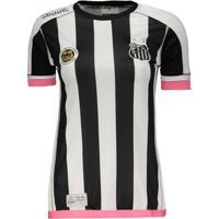 e8d85c329e Netshoes  Camisa Kappa Santos Feminina - Feminino