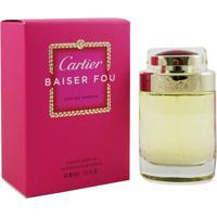 Cartier Baiser Fou Eau De Parfum Feminino 75 Ml