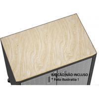 Tampo 765Cmx458Cm Titanium Itatiaia Cor De Madeira