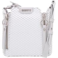 Minibag Zíper Snake Branca | Schutz