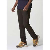 Calça Jeans Masculina Slim Peach Touch Verde