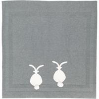 Stella Mccartney Kids Cobertor 'Bunny' De Tricô - Cinza