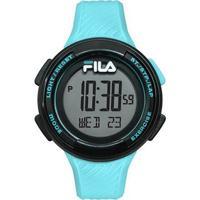 Relógio Fila Pedometro Digital Azul Claro