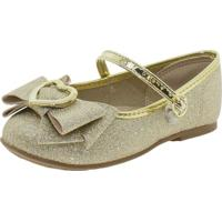 Sapatilha Infantil Baby Molekinha - 21061003 Ouro 17